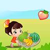 لعبة جمع الفواكه لعبة اطفال