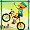 لعبة دراجات هوائية القفز تجنب العقبات